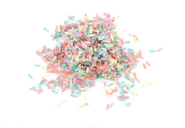 diy pushpop confetti