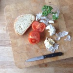 makkelijke tomatensoep met pangritata