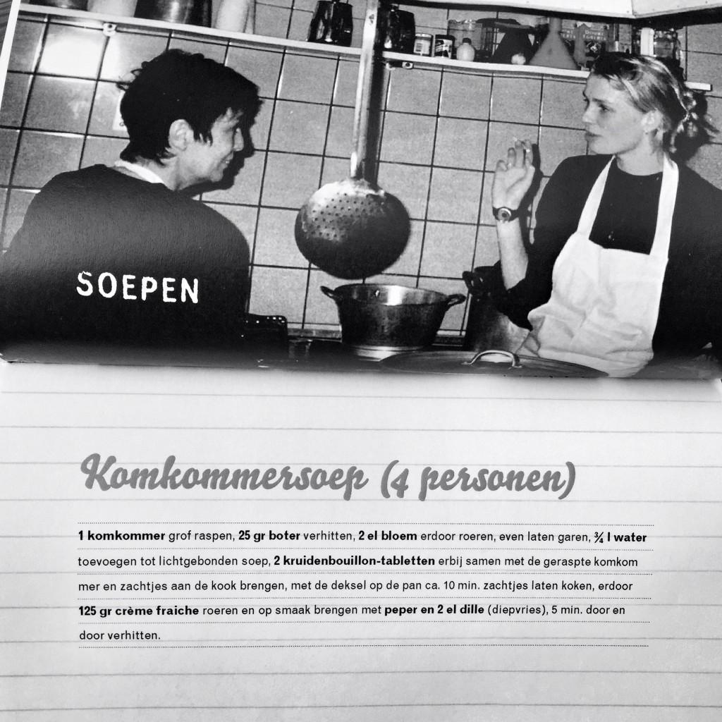 Ellen en Meriam Beek in de keuken