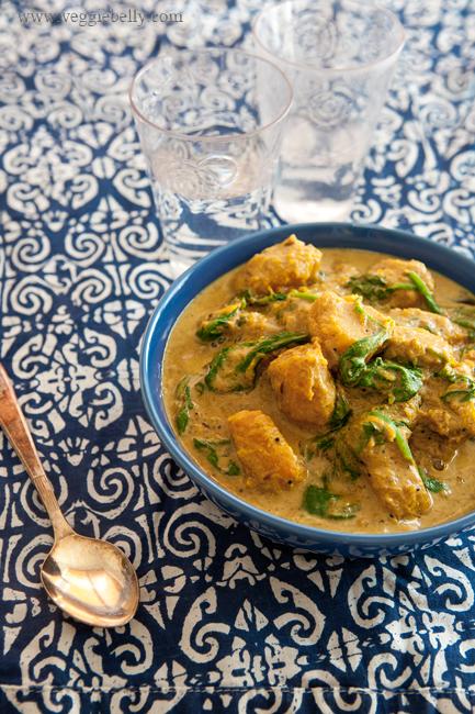 pompoen curry