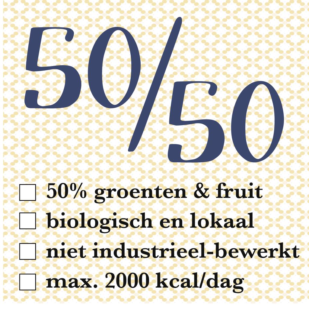 50/50 eetregels diana van ewijk