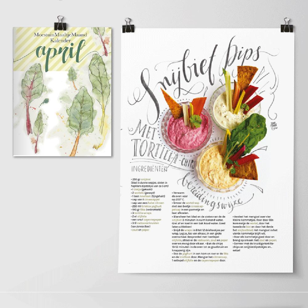 Handige Moestuin Zaaikalender April, met focus op Snijbiet. Slimme Snijbiet Kweekweetjes en verrassend lekker recept met Snijbiet.