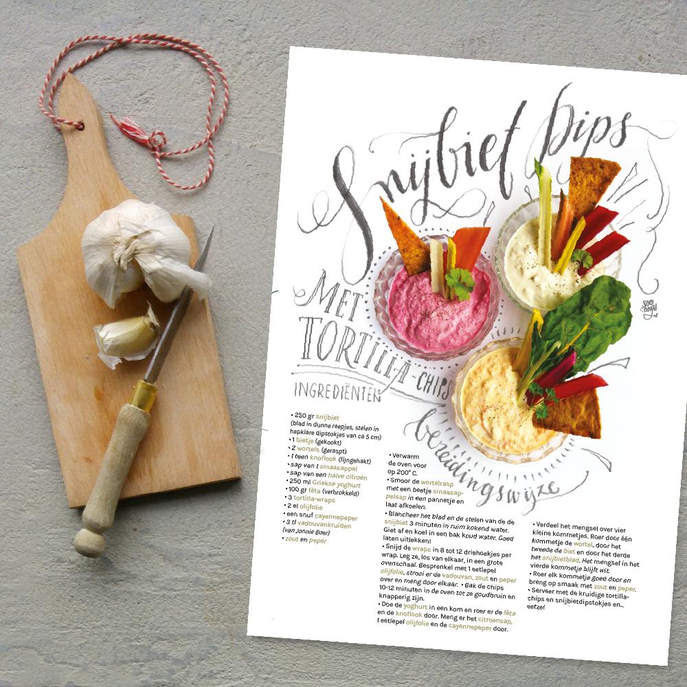Handige Moestuin zaaikalender voor April, met slimme kweekweetjes Snijbiet en verrassend Snijbiet-recept