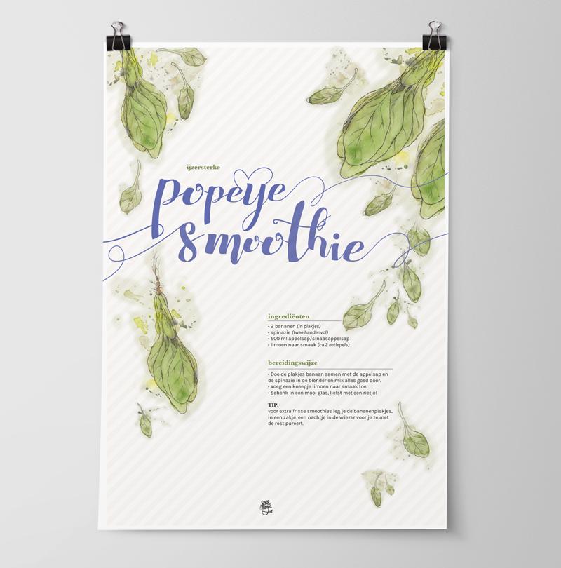 printbaar-recept-poeye-smoothie-poster-mockup