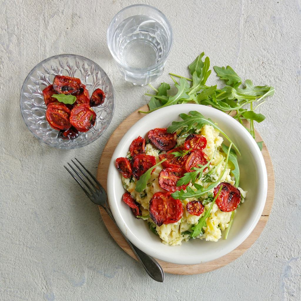Kook&Klaar-Zomer-stamppot-overnight-cherry-tomaatjes