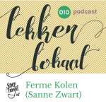 POdcast over de korte keten in Rotterdam, met fermentatie food label Ferme Kolen in Flowers & Sours, Coolhaven, Rotterdam