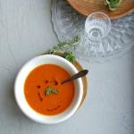 snelle soep van bliktomaten