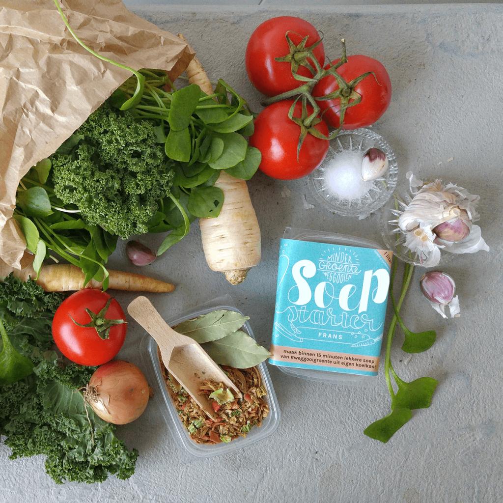 Bestrijd voedselverspilling thuis: maak soep van groente die je anders weg zou gooien