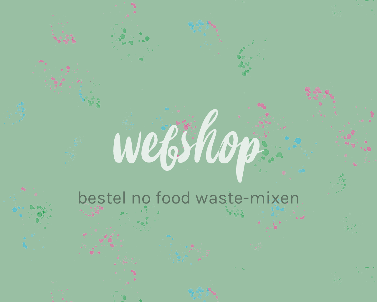 bestel no food waste mixen