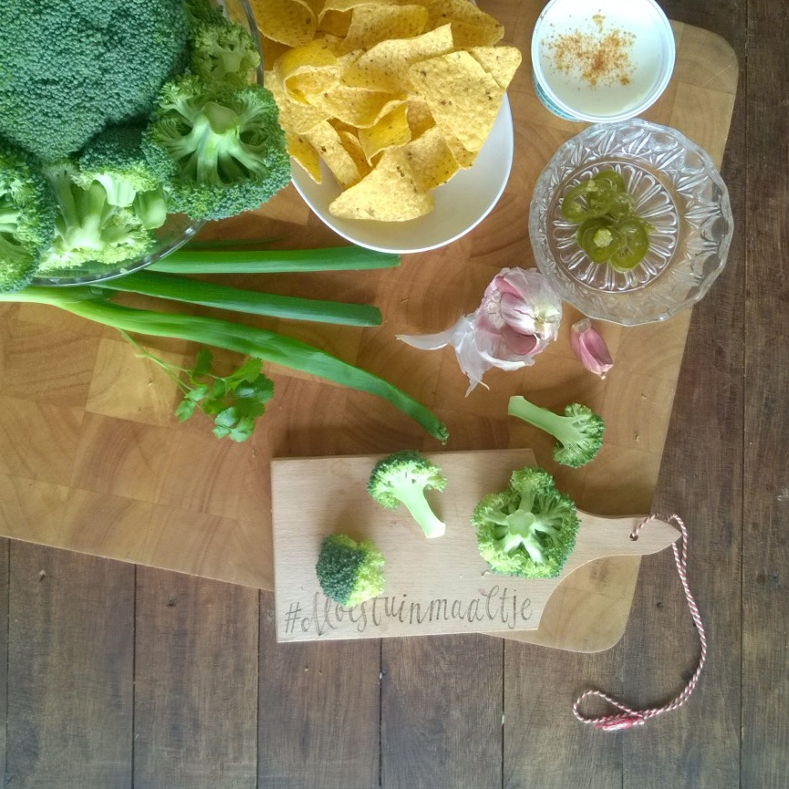 broccomole makkelijk moestuinrecept broccoli