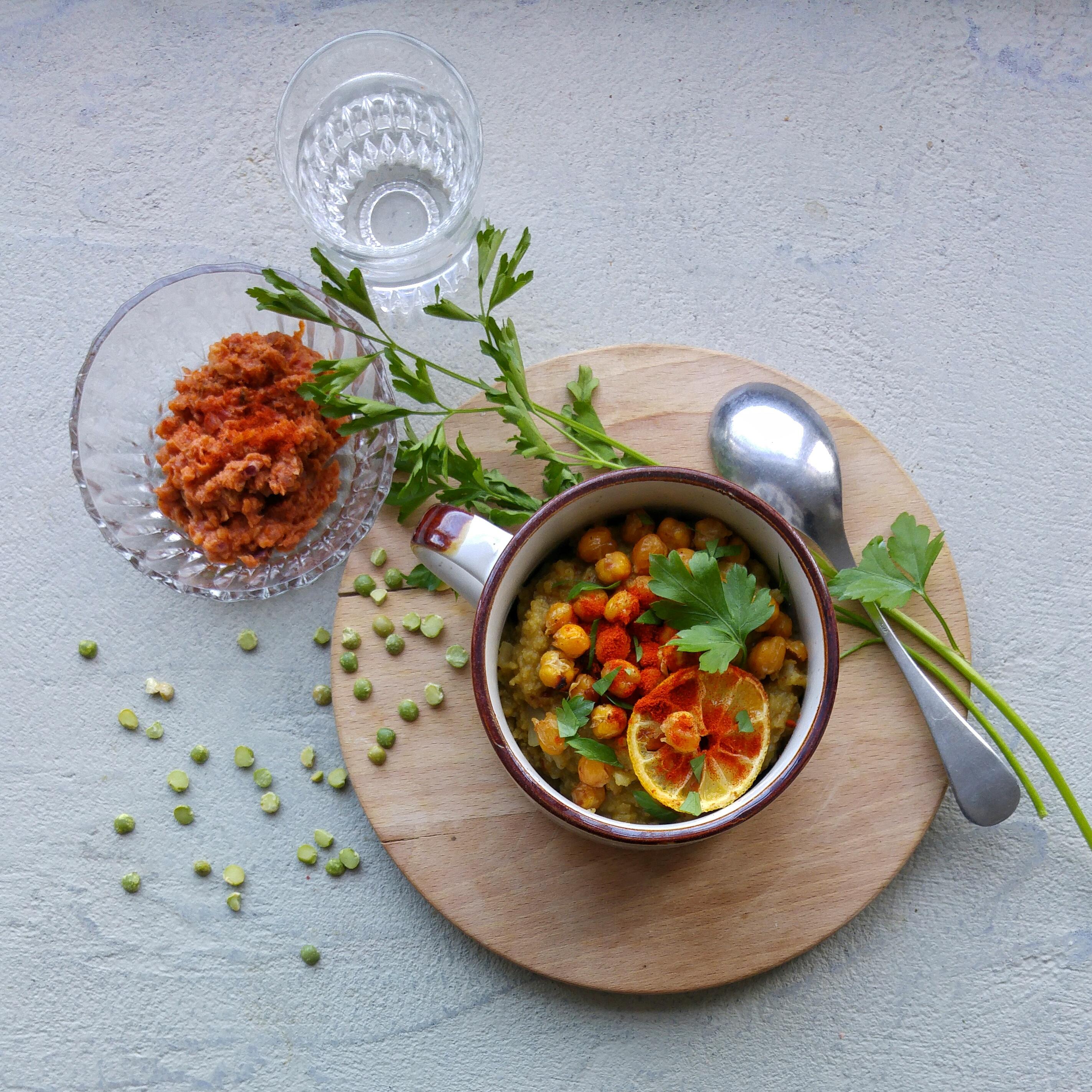 Zo maak je vegetarische erwtensoep