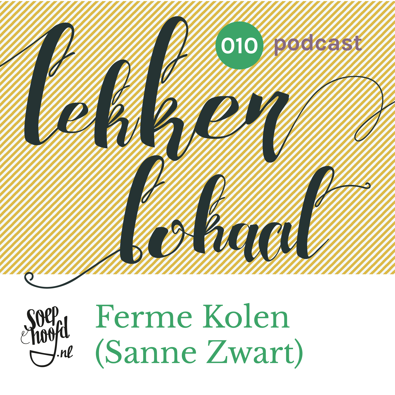 POdcast over de korte keten in Rotterdam, met fermentatie food label Ferme Kolen in Flowers & Sours, Coolhaven, Rotterdam